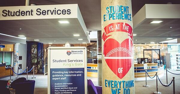 university wellbeing student services
