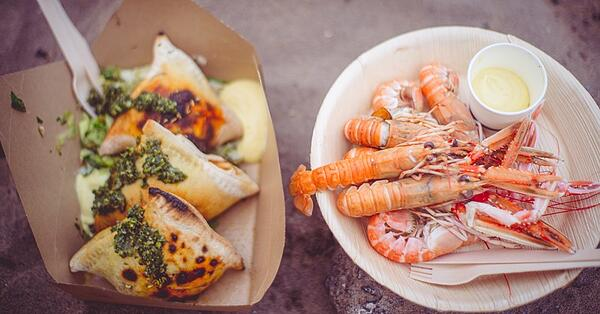 tynemouth festival food